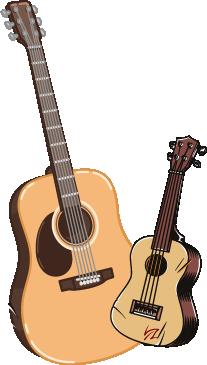Gitara czy ukulele?